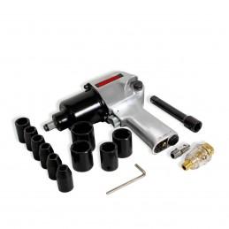 "Pistola De Impacto Neumática (1"",2500 Lb/Ft) Vástago Largo 6 MIKELS PIN-16 MIK-PIN-16 MIKELS"