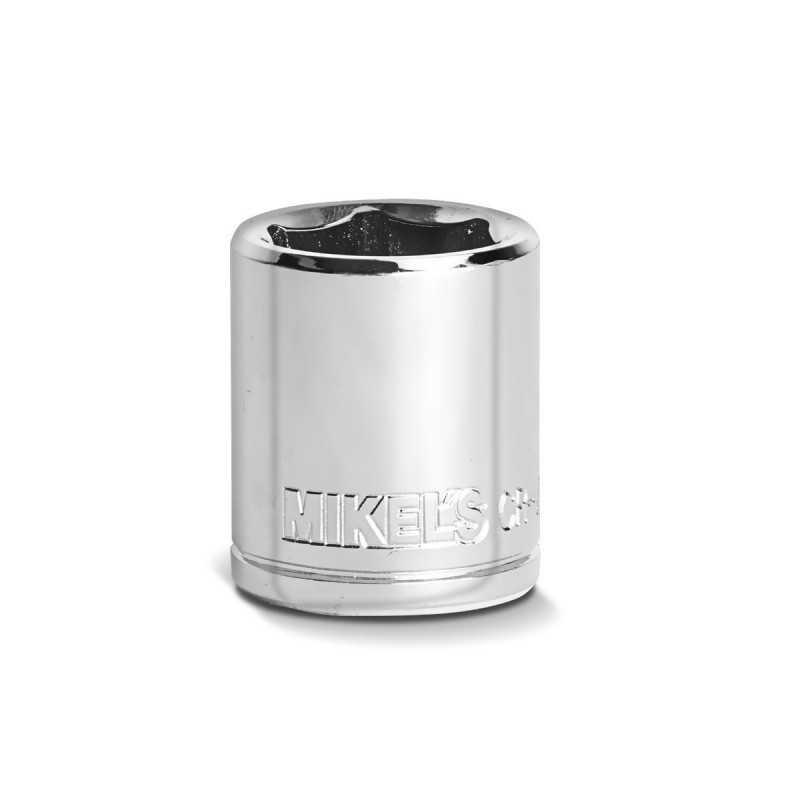 """Dado Corto 3/8"""" Milimétrico 18 mm MIKELS DC-1838 MIK-DC-1838 MIKELS"""