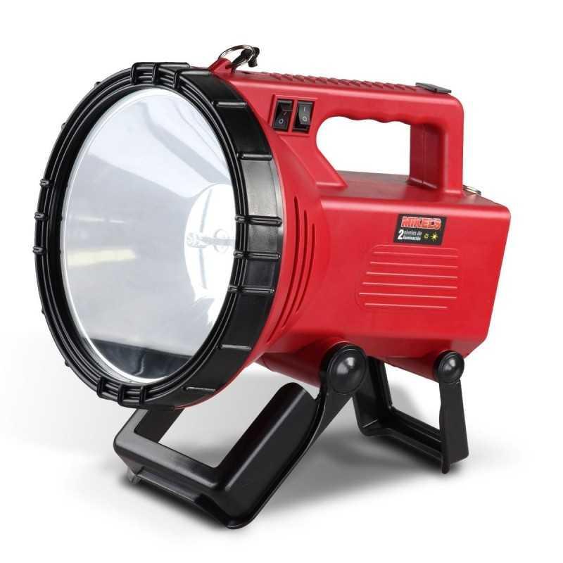 Lámpara Recargable De Halógeno 10 Mc MIKELS LHR-10M MIK-LHR-10M MIKELS