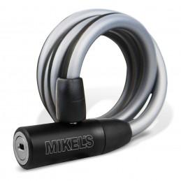 Cable Candado Para Bicicleta (1 Mt) MIKELS C-121 MIK-C-121 MIKELS