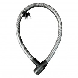 Cable Candado Flexible(1 Mt) MIKELS C-4612 MIK-C-4612 MIKELS