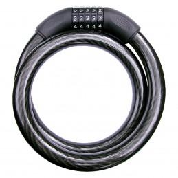 Cable Candado De Combinacion Uso Rudo (1 Mt) MIKELS CB-22 MIK-CB-22 MIKELS