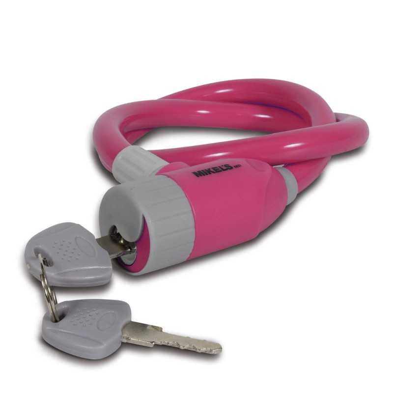 Cable Candado Flexible Para Niña MIKELS CCR-65 MIK-CCR-65 MIKELS