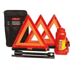 Herramienta para auto Kit Con Gato 20 T MIKELS KIT-8007 MIK-KIT-8007 MIKELS