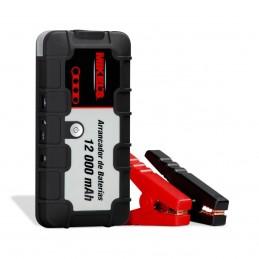 Arrancador De Baterias Jumper 12,000 Mah MIKELS MJS-12000 MIK-MJS-12000 MIKELS