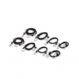 Cinturones Elásticos Bungees (8 Piezas) MIKELS BU-8 MIK-BU-8 MIKELS