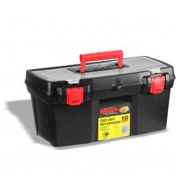 "Caja Plástica Para Herramientas 19"" (2.8 Lts) MIKELS CHP-190 MIK-CHP-190 MIKELS"