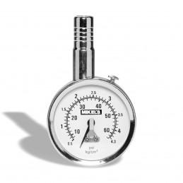 Calibrador De Carátula Profesional Hd Cromado Rango 0-160 Psi MIKELS CCP-60 MIK-CCP-60 MIKELS