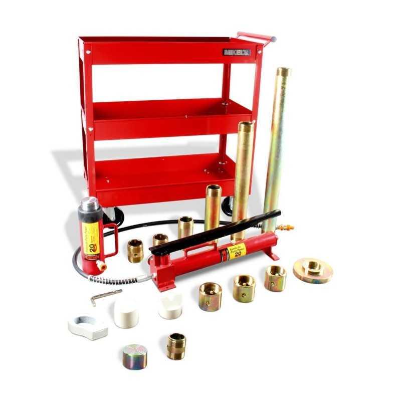 Porto Power 20 Ton Caja Metálica (Incluye Carrito De Servicio) MIKELS R-436 MIK-R-436 MIKELS