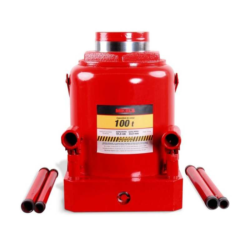 Gato Hidráulico De Botella 100 T Bomba De 2 Velocidades MIKELS GH-100 MIK-GH-100 MIKELS