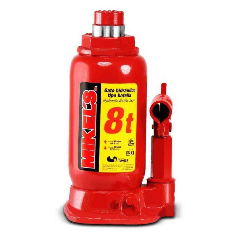 Gato Hidráulico De Botella Con Tornillo De Extensión 8 Ton MIKELS GH-8 MIK-GH-8 MIKELS