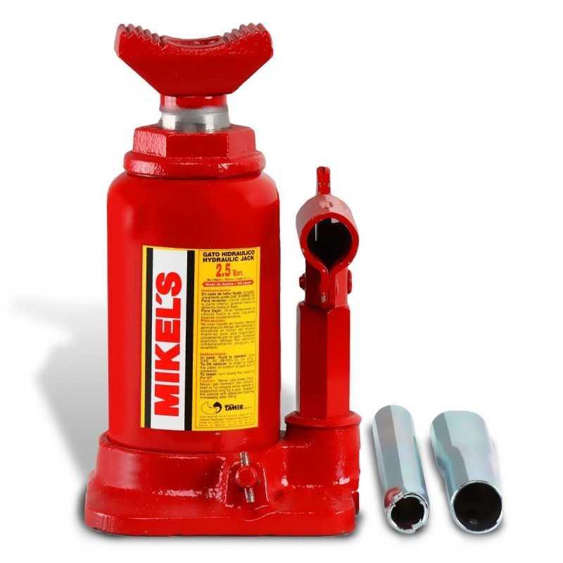 Gato Hidráulico Telescópico De Botella 2.5 T MIKELS GHT-2.5 MIK-GHT-2.5 MIKELS