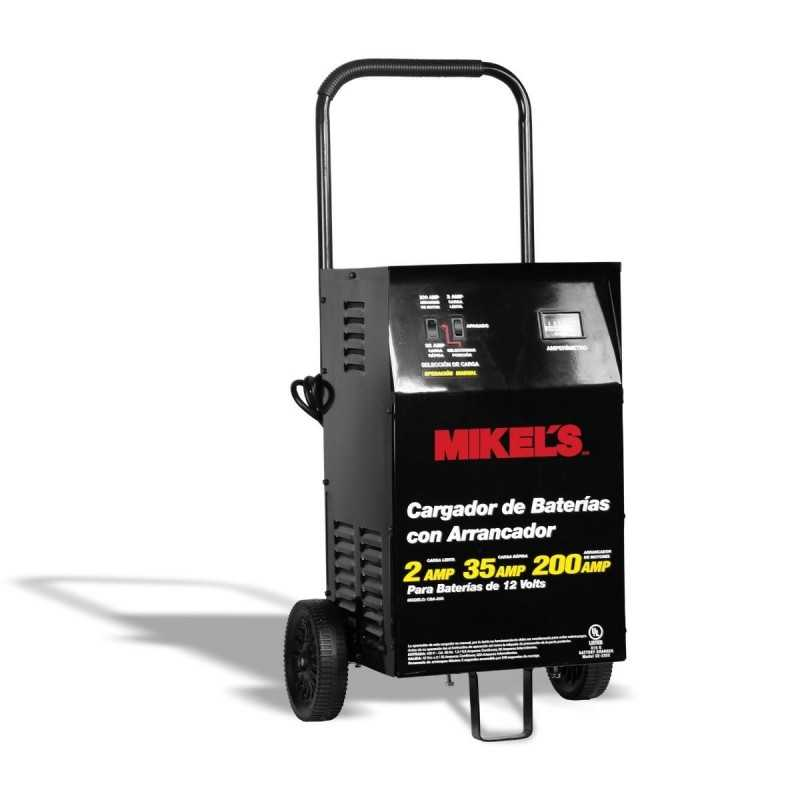 Cargador Baterías Con Arrancador (2/35/200 Amp) MIKELS CBA-200 MIK-CBA-200 MIKELS