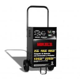 Cargador Baterías Arranc Probador Amperímetro 2/10/50/125/225 Amp MIKELS CBAP-225 MIK-CBAP-225 MIKELS