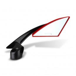 Espejo Retrovisor Universal Triangular Para Moto (Rojo) MIKELS EURM-2R MIK-EURM-2R MIKELS