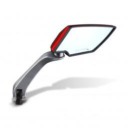 Espejo Retrovisor Universal Para Moto (Rojo) MIKELS EURM-R MIK-EURM-R MIKELS