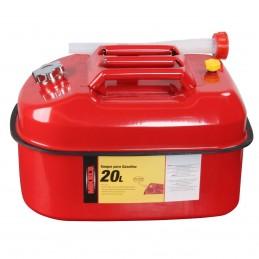 Tanque Metálico Para Gasolina 20 Lts MIKELS TG-20 MIK-TG-20 MIKELS