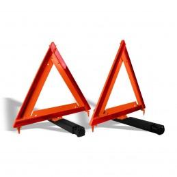 "Triángulos Reflejantes Con Bolsa De Vinil 17"" (1 Par) MIKELS TR-17 MIK-TR-17 MIKELS"