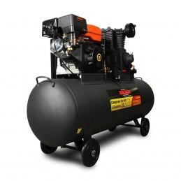 Compresor De Aire 13 Hp Motor A Gasolina (300 Lts) MIKELS CG-13HP MIK-CG-13HP MIKELS