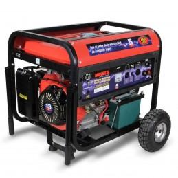 Generador Soldadora Motor 4 T Con Soldadora 5,500W 15 Hp MIKELS GCES-55 MIK-GCES-55 MIKELS