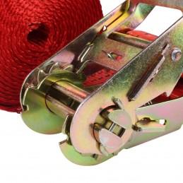 """Cinturón Tensor Para Sujetar Carga 2"""" 1.5 Ton 4.5 Mts MIKELS TDB-45 MIK-TDB-45 MIKELS"""