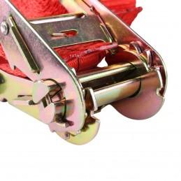 """Cinturón Tensor Para Sujetar Carga 2"""" 1.5 Ton 9 Mts MIKELS TDB-90 MIK-TDB-90 MIKELS"""