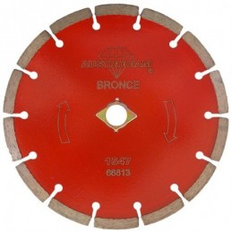 Disco De Diamante 7X0.09X7/8 Rojo Segmentado Cantera Austromex 1547 AUS1547 AUSTROMEX