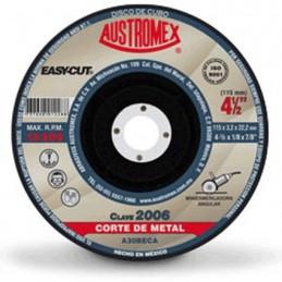 "Disco Para Corte Metal 4 1/2"" X 1/8"" X 7/8"" Austromex 2006 AUS2006 AUSTROMEX"
