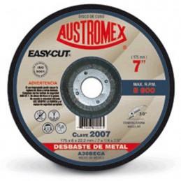 "Disco Para Desbaste Metal 7"" X 1/4"" X 7/8"" Austromex 2007 AUSTROMEX AUS2007"