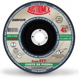 """Disco Para Corte Piedra 4 1/2"""" X 3/3"""" X 7/8"""" Austromex 377 AUS377 AUSTROMEX"""