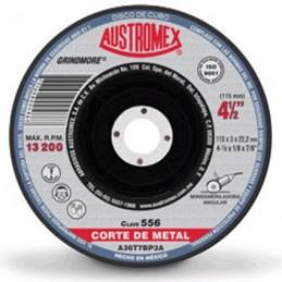 "Disco Para Corte Metal 4 1/2"" X 1/8"" X 7/8"" Austromex 556 AUS556 AUSTROMEX"