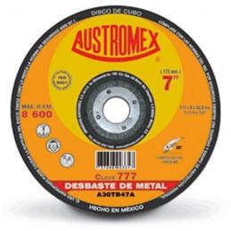 "Disco Abrasivo Para Desbaste Metal 7"" X 1/4"" X 7/8"" Austromex 777 AUS777 AUSTROMEX"