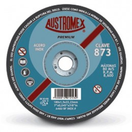 "Disco Abrasivo Para Corte Acero 7"" X 0.045"" X 7/8"" Austromex 873 AUS873 AUSTROMEX"
