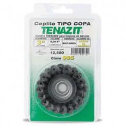 "Cepillo Tipo Copa Trenzada 3"" X 0.014 Austromex 965 AUS965 AUSTROMEX"
