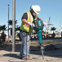 """Martillo Demoledor 1-1/8"""" Zanco Hexagonal 870 Gpm 30. 0 Kg. 68J Makita HM1812 MAKHM1812 MAKITA HERRAMIENTAS"""