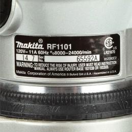 Router 2-1/4 Hp 0-24,000 Rpm 1,100 Watts Makita RF1101 MAKRF1101 MAKITA HERRAMIENTAS