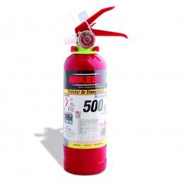 Extintor De Emergencia Recargable 500 G MIKELS EE-500 MIK-EE-500 MIKELS