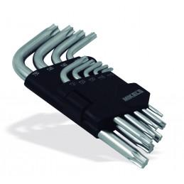 Llaves Torx® (9 Pzas) MIKELS JT-9 MIK-JT-9 MIKELS