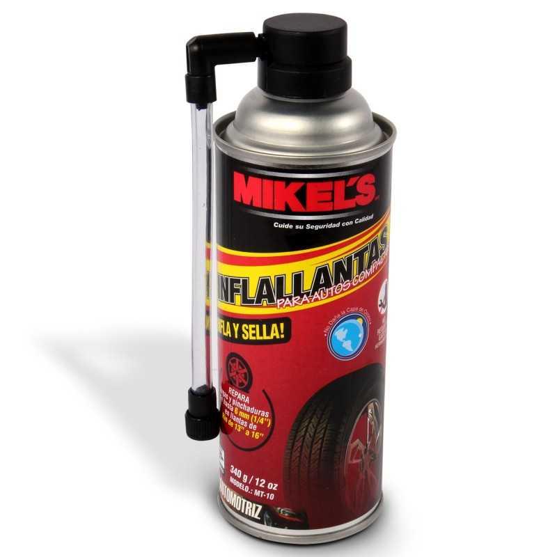 Inflallantas Magic Tire (340 Grs, 12 Oz) Para Autos Compactos MIKELS MT-10 MIK-MT-10 MIKELS