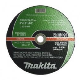 """Disco Abrasivo Corte Concreto 9 1/8"""" 7/8"""" Makita D18384 D18384 MAKITA ACCESORIOS"""
