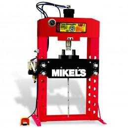 Prensa Hidroneumática Con Pistón Y Manómetro 100 Ton MIKELS PHB-100 MIK-PHB-100 MIKELS