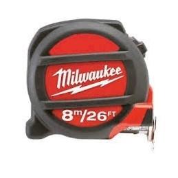 """Flexometro 8 Metros 26"""" Milwaukee 48227725 AMIL48227725 MILWAUKEE ACCESORIOS"""