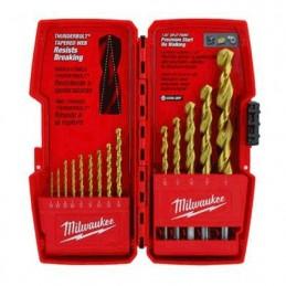 Brocas Juego De 14 Piezas De Titanium Milwaukee 48890011 1 AMIL48890011 MILWAUKEE ACCESORIOS