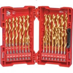 Brocas De Titanio 29 Piezas Milwaukee 48894632 AMIL48894632 MILWAUKEE ACCESORIOS