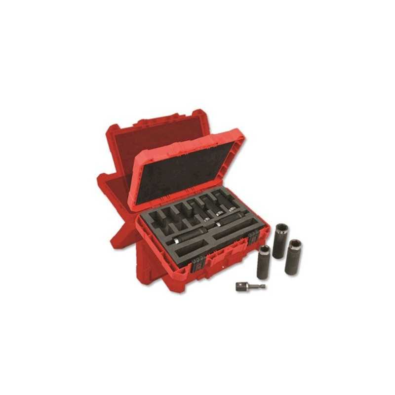 "Dados De Sockets 9 Piezas 1/2"" Milwaukee 49664484 1 AMIL49664484 MILWAUKEE ACCESORIOS"
