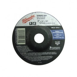 "Disco Desbaste Y Corte De Metal 5"" 1/8"" Milwaukee 49945010 1 AMIL49945010 MILWAUKEE ACCESORIOS"