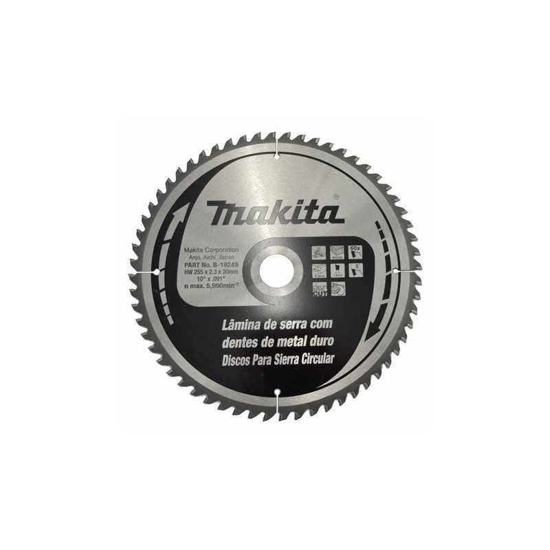 "Disco Sierra Circular 10"" X 1 3/16"" X 40 Dientes Makita B19233 1 B19233 MAKITA ACCESORIOS"