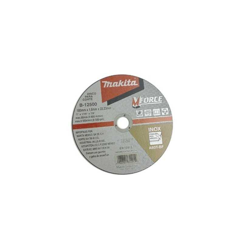 Disco De Corte Para Acero Inoxidable 125X1 Makita D18415 1 D18415 MAKITA ACCESORIOS
