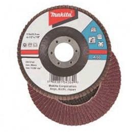 "Disco Desbaste 4-1/2"" G40 De Lija Con Soporte Textil Makita D32007 1 D32007 MAKITA ACCESORIOS"