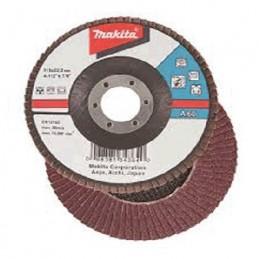 "Disco Desbaste 4-1/2"" G120 De Lija Con Soporte Textil Makita D32035 1 D32035 MAKITA ACCESORIOS"